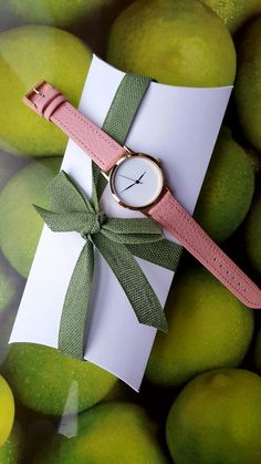 Your place to buy and sell all things handmade Pink Watch, Beautiful Watches, Gift Packaging, Fashion Watches, Blush Pink, Just For You, Women Jewelry, Minimalist, Handmade