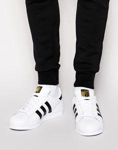 timeless design fc4a6 097ab adidas Originals   adidas Originals Superstar Sneakers C77124 at ASOS  Basket Superstar, Tenis Adidas,