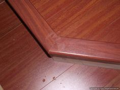 Installing Laminate Flooring On Angled Stairs, Use Construction Adhesive To  Glue The Stair Nose On