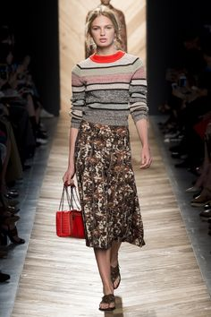 "Bottega Veneta Spring 2016 Modest doesn't mean frumpy. Sign up for modest fashion tips: www.ColleenHammond.com Do your clothing choices, manners, and poise portray the image you want to send? ""Dress how you wish to be dealt with!"" (E. Jean)"