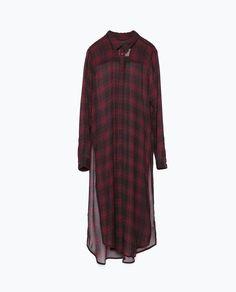 Zara - CHEMISE LONGUE / robe
