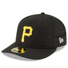 new product 873f5 b618a Men s Pittsburgh Pirates New Era Black Fan Retro Low Profile 59FIFTY Fitted  Hat,  31.99 Custom