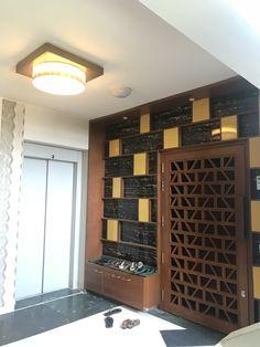 44 Cheap And And Simple Wood Partition Ideas As Room Divider Door Design, Glass Door, Glass Door Curtains, Double Door Entryway, Doors Interior, Entrance Design, Wood Doors Interior, Door Glass Design, Wood Partition