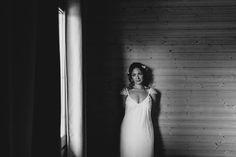 Una novia muy auténtica.   #novia #boda #dress #whitedress #naturalphotography #photography #bride #wedding