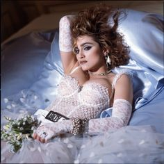 Madonna Like a Virgin Cover Session, 1984 Photo by Steven Meisel
