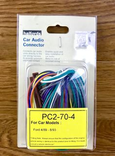 Ford Car Stereo Wiring Connector To Halfords Brand New Car Audio, Ford