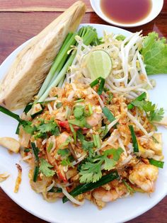 Iconic and delicious - pad Thai - it's worth the long flight for a morsel of this dish http://www.classified-thailand.com/
