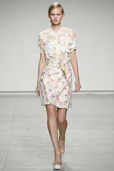 Rebecca Taylor Collection printemps-été 2015 #mode #fashion