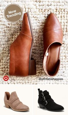 Need fall outfit inspiration & ideas? Check out ankle boots with cutouts, studs, buckles & more. Target Ankle Boots, Fall Shoes, Fashion Shoes, Fashion Outfits, Womens Fashion, Fall Fashion, Cute Shoes, Me Too Shoes, Shoes Sandals