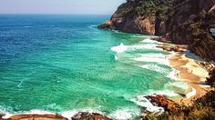 Joatinga, Rio de Janeiro.    I guess it's good I have a guy I know, that wants me to come visit him here... The water looks beautiful!