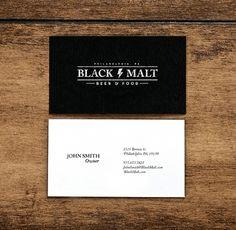 Black Malt Beer and Food,Philadelphia PA