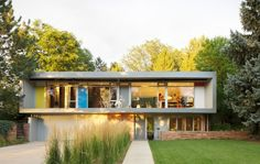 Arapahoe Acres Residence by Taber Sweet, via Behance