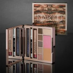 The Urban Decay Naked on the Run Palette is coming soon! Urban Decay launched news of their new Urban Decay Naked on the Run Face Palette that includes mak Urban Decay, Love Makeup, Beauty Makeup, Makeup Kit, Normal Makeup, Makeup Stuff, Makeup Blog, Diy Makeup, Makeup Eyeshadow