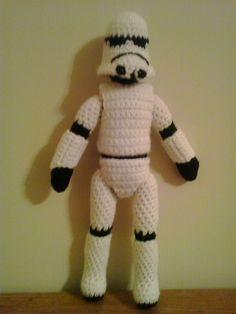 Crochet Fanatic: STORM TROOPER
