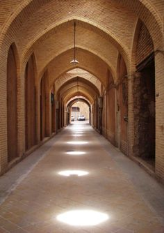 Old market in Yazd