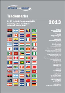 GETTING THE DEAL THROUGH - TRADEMARKS 2013   FASHION LAW NOTES