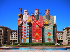 The World's Strangest And Funniest Buildings! Tianzi Hotel, Langfang, China.