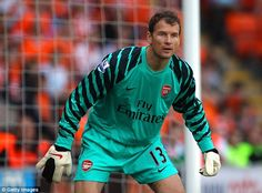 Jens Lehmann was barmy and utterly brilliant in between the sticks for Arsenal