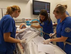 In addition to supervised practice in selected health agencies, TCC students who plan to be respiratory therapists gain hands-on experience in labs held in the Regional Health Professions Center.