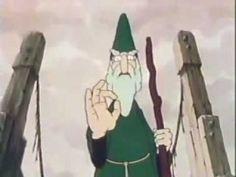 Classic Sesame Street animation - The Bridgekeeper (circles)