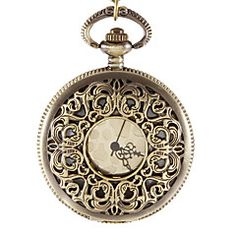 Unisex Estilo occidental Vintage Carve aleación de bronce de... – MXN $ 152.02