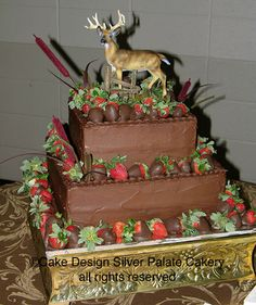 perfect groom cake for the hunter type