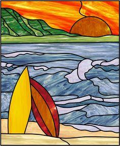 Surfboards & Sunset
