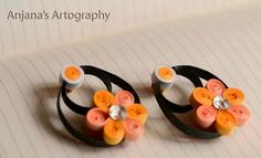Earrings - Quilled by: Anjana's Artography