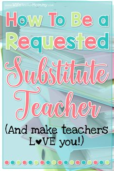Are you a substitute