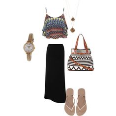 Lazy day out, created by meitjie on Polyvore
