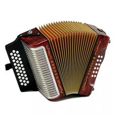 Hohner Corona III Série Traditionnelle Accordéon Diatonique