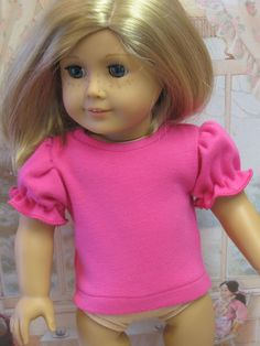 Dressy Knit Top for 18 American Girl Doll  by DollClothesByPeg, $5.99