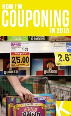 How I'm Couponing in 2015 - KCL