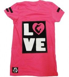 Love Carly gymnastics shirt by Carly Patterson