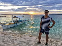 Designer Rafe Totengco of took our boat across to Daku Island to have a beachside dinner and he loved it! Siargao, Sweet Life, Cover Up, Boat, Island, Dinner, Design, Fashion, Block Island