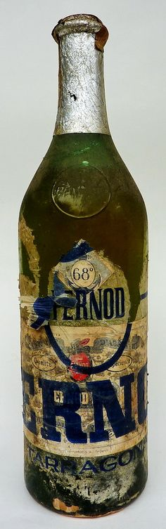 Vintage Absinthe bottle