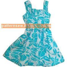 باترون مفصل لفستان بنوتة - Pattern Sewing
