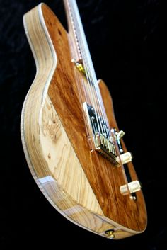 Hollow-body Africaster by John Soderlund of JGS Guitars.