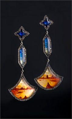 Sevan Biçakçi, gold, diamonds, miniature painting...