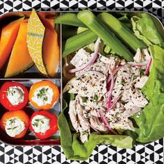Add pizzaz to your day with these packed lunch ideas for work or school. Find easy recipes for sandwiches, salads, soups, treats, and more. Healthy Lunches For Work, Healthy Snacks, Healthy Eating, Healthy Recipes, Work Lunches, Simple Recipes, Detox Recipes, Lunch Snacks, Lunch Box
