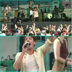 Most in sync audience...  love it!  #nateruess #fujirock2015  Btw, link in my bio for this performance
