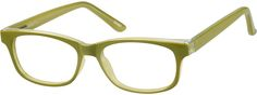 Order online, kids green full rim acetate/plastic rectangle eyeglass frames model #124624. Visit Zenni Optical today to browse our collection of glasses and sunglasses.