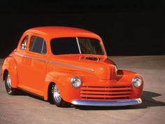 World's fastest 47 Ford Coupe owned by Pete and Jake