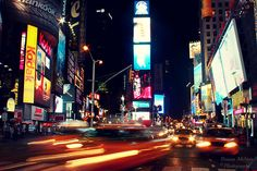Timesquare in New York City - Broadway - It somehow looks so peaceful