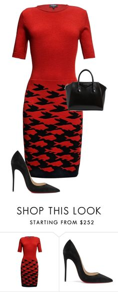 """Untitled #870"" by angela-vitello on Polyvore featuring Rumour London, Christian Louboutin and Givenchy"
