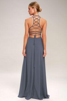 b69dea91b09 13 Best denim maxi dress images