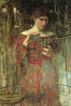 John William Waterhouse study
