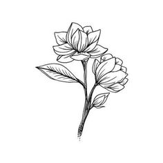 Tattify Flower Temporary Tattoo - Buddy (Set of 2)