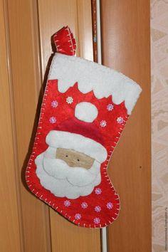 Мастер-класс: новогодний сапожок с Дедом Морозом