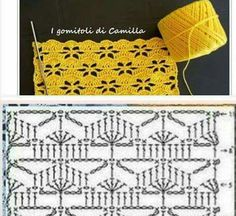 45 Ideas For Crochet Patrones Ganchillo Blusas, 45 Ideas For Crochet Patrones Ganchillo Blusas VEJA MAIS crochetclarissa. Crochet Diagram, Crochet Chart, Filet Crochet, Crochet Motif, Crochet Lace, Tunisian Crochet, Crochet Stitches Patterns, Stitch Patterns, Knitting Patterns